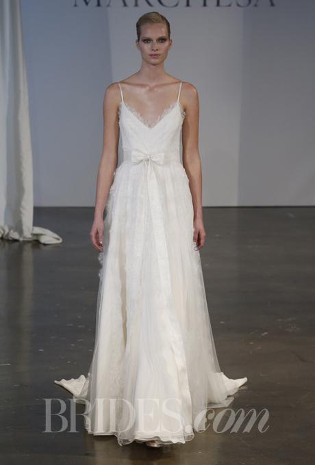 """""""Đã mắt"""" với BST váy cưới Xuân/Hè 2014 của Vera Wang & Marchesa 23"""