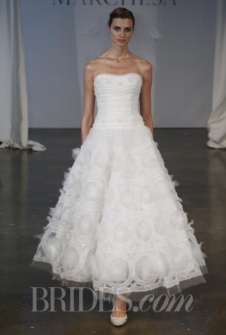 """""""Đã mắt"""" với BST váy cưới Xuân/Hè 2014 của Vera Wang & Marchesa 25"""