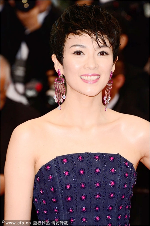 Muôn vẻ tóc ngắn của loạt kiều nữ châu Á 14