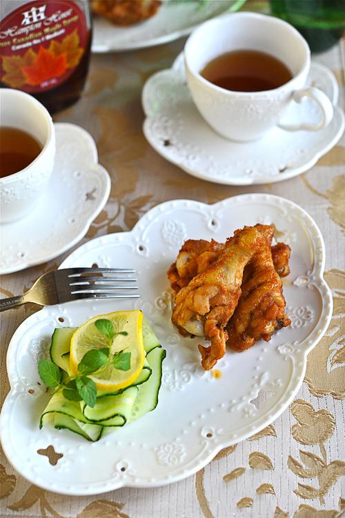 Món ngon cuối tuần: Cánh gà nướng mật ong 1