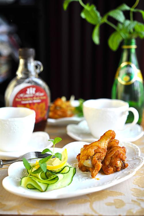 Món ngon cuối tuần: Cánh gà nướng mật ong 9