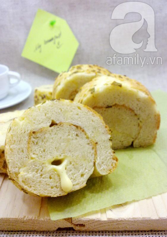 Bánh mỳ cuộn phô mai cho bữa sáng ngon miệng 1