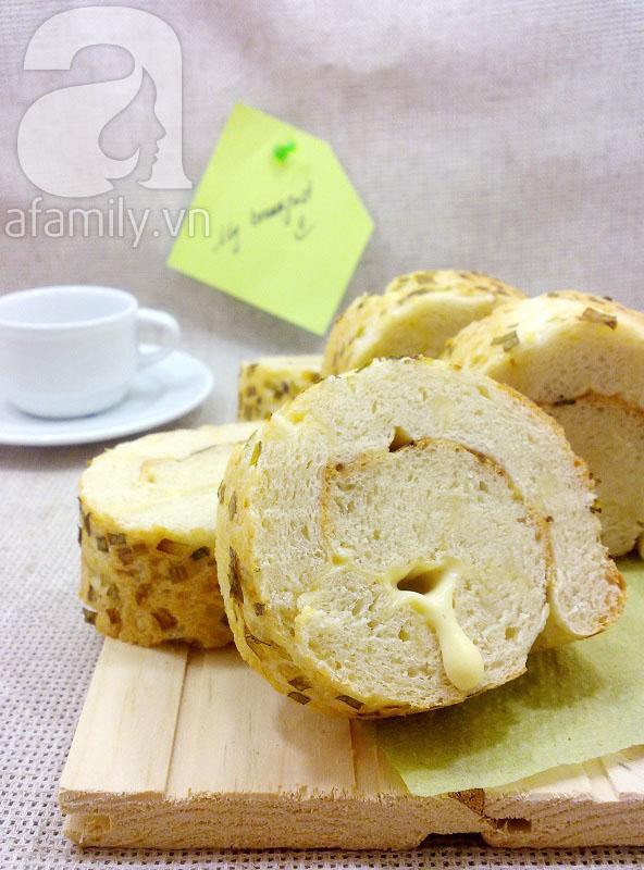 Bánh mỳ cuộn phô mai cho bữa sáng ngon miệng 11