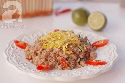 Thịt heo xào lá chanh làm nhanh ăn ngon 11
