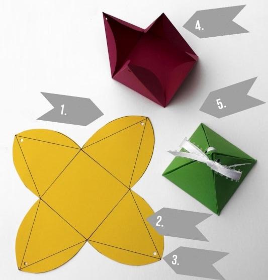 2 cách gấp hộp quà đơn giản mà đẹp mắt 4