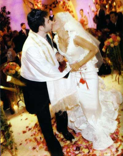 Những đám cưới xa hoa bậc nhất của các ngôi sao 12