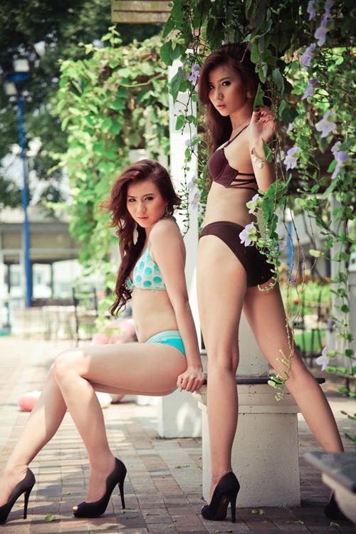 Những cặp chị em xinh đẹp nổi tiếng của showbiz Việt 23