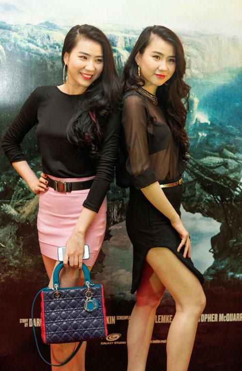 Những cặp chị em xinh đẹp nổi tiếng của showbiz Việt 24