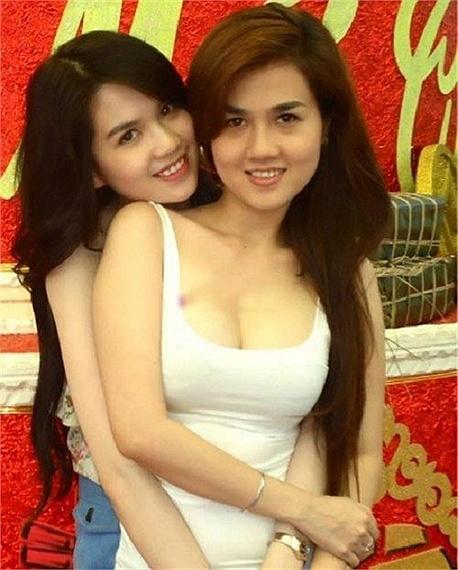 Những cặp chị em xinh đẹp nổi tiếng của showbiz Việt 1