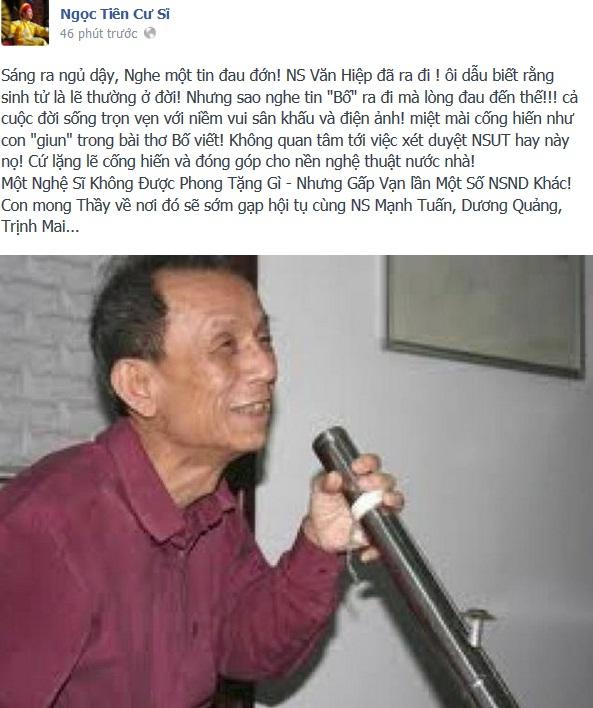 """""""Trưởng thôn"""" Văn Hiệp đã ra đi 2"""