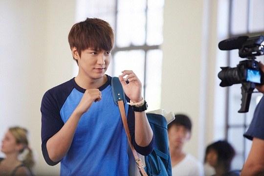 """Lee Min Ho, Park Shin Hye cười tít mắt trên phim trường """"The Heirs"""" 3"""