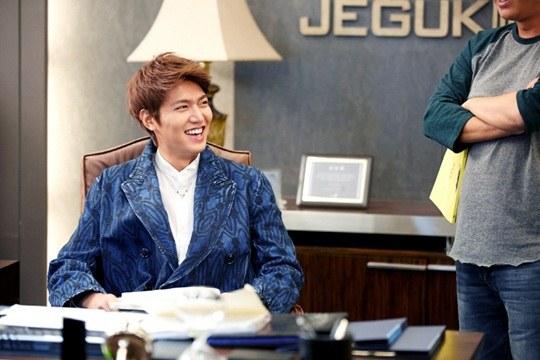 """Lee Min Ho, Park Shin Hye cười tít mắt trên phim trường """"The Heirs"""" 2"""
