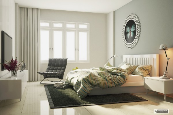 4 thiết kế phòng ngủ hiện đại đáng để mơ ước 10