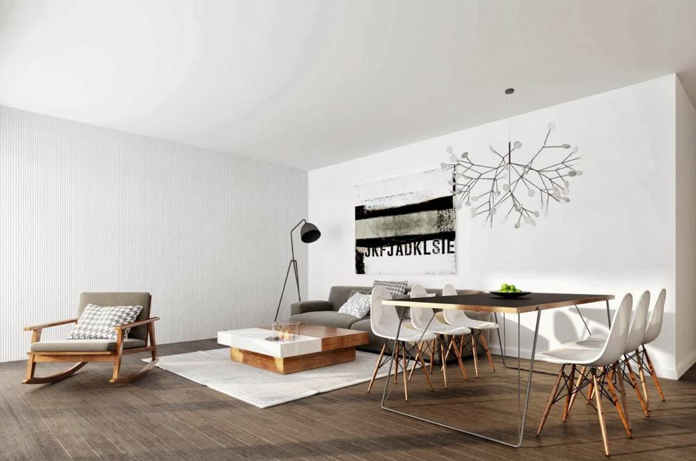 Tư vấn cải tạo cho căn hộ tập thể hình thang 59m² 3