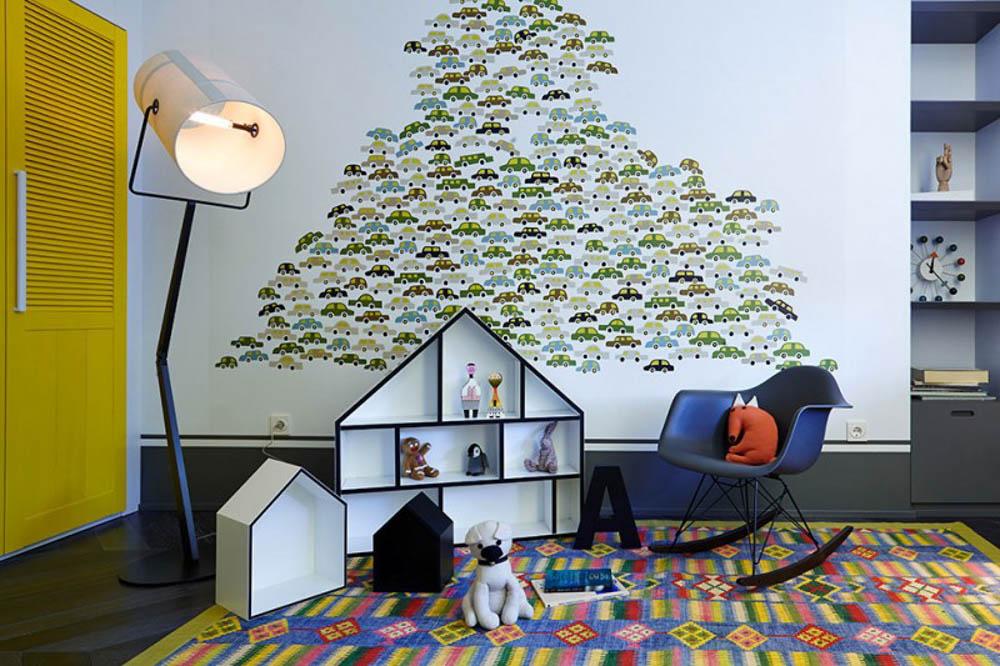 Tư vấn cải tạo cho căn hộ tập thể hình thang 59m² 9