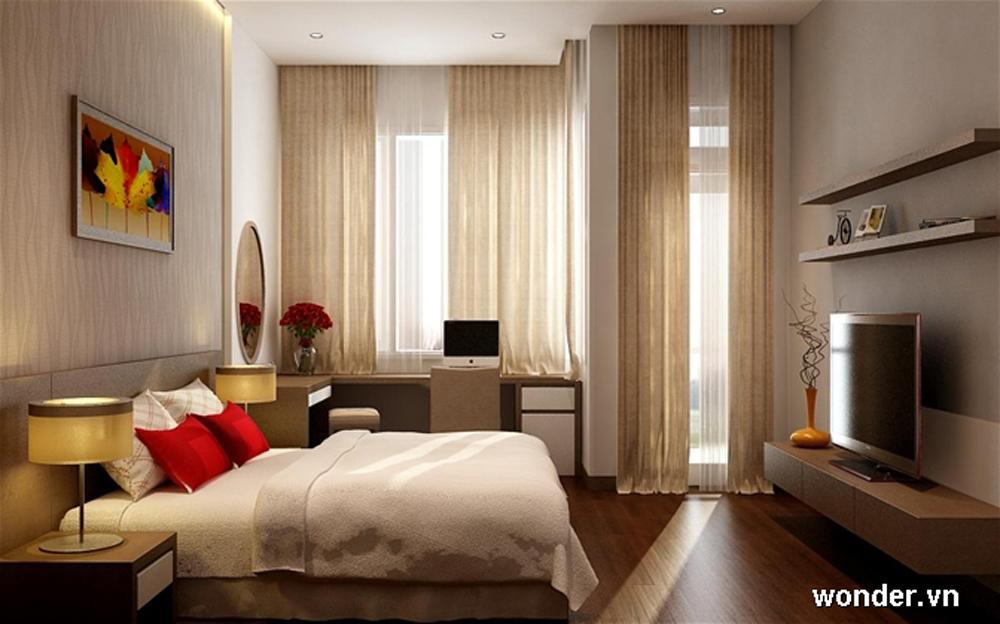 Tư vấn cải tạo để căn hộ 50m² có 2 phòng ngủ 7
