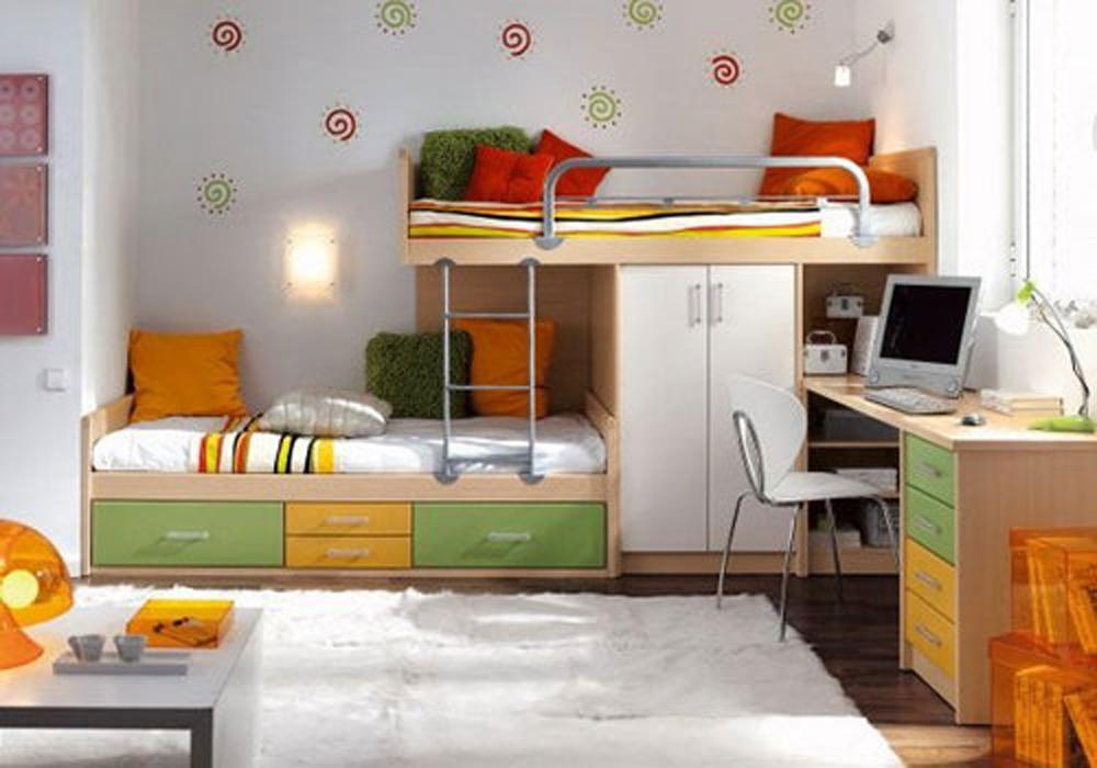 Tư vấn cải tạo để căn hộ 50m² có 2 phòng ngủ 8