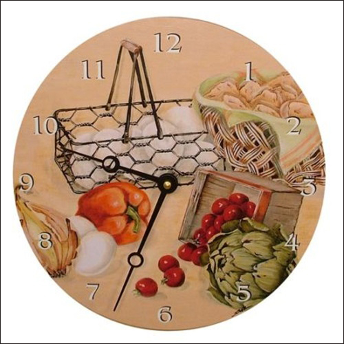 Tạo điểm nhấn cho phòng bếp bằng đồng hồ treo tường ấn tượng 5