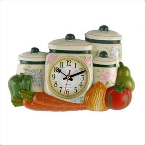 Tạo điểm nhấn cho phòng bếp bằng đồng hồ treo tường ấn tượng 6