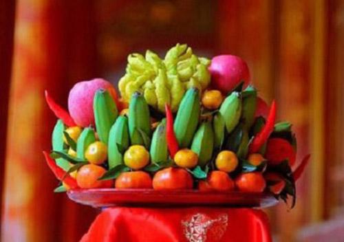 Mâm ngũ quả - nét văn hoá đẹp của người Việt