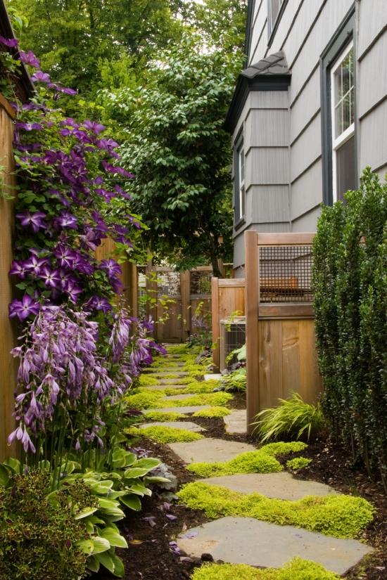 Thiết kế những lối nhỏ vào vườn đầy duyên dáng 1