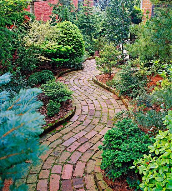 Thiết kế những lối nhỏ vào vườn đầy duyên dáng 4