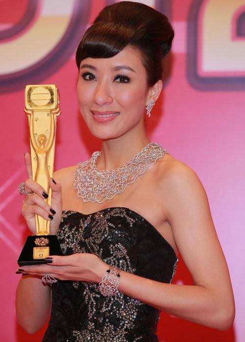 Mũi của Dương Di - Ảnh Hậu TVB 2012 ngày càng... đáng sợ 2