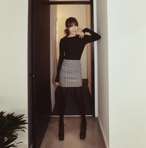 Phối đồ cùng 3 kiểu chân váy cho ngày Tết 6