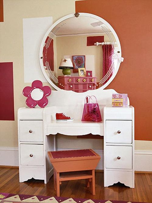 Bài trí phòng cho bé gái cực xinh xắn với màu hồng 6