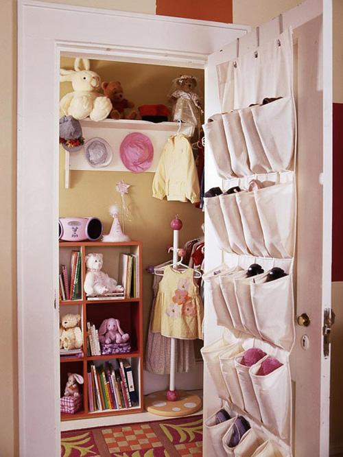 Bài trí phòng cho bé gái cực xinh xắn với màu hồng 4