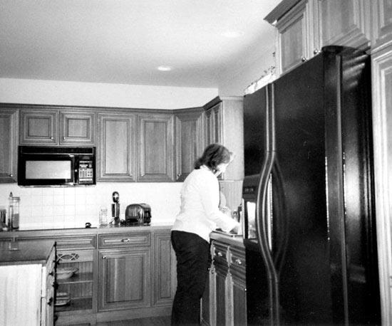 Ngắm những phòng bếp cũ kĩ trở nên rạng ngời sau khi trang hoàng 5