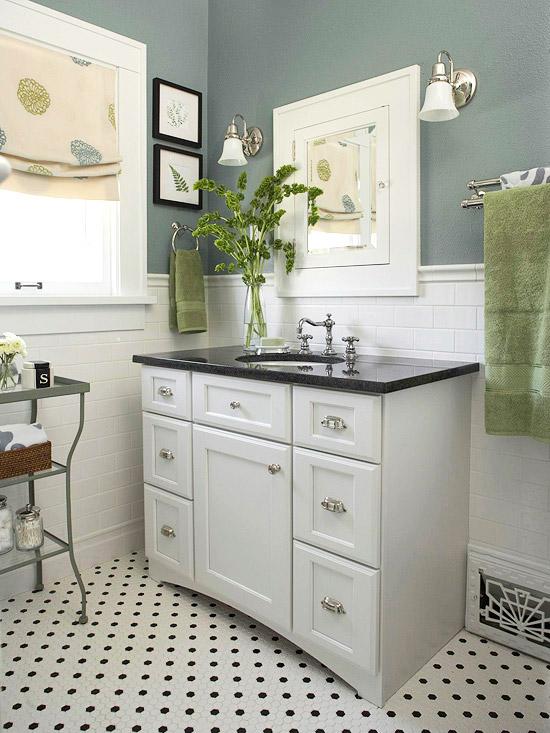 Cải tạo 2 phòng tắm xấu xí, lỗi thời trở nên đẹp và hiện đại 4