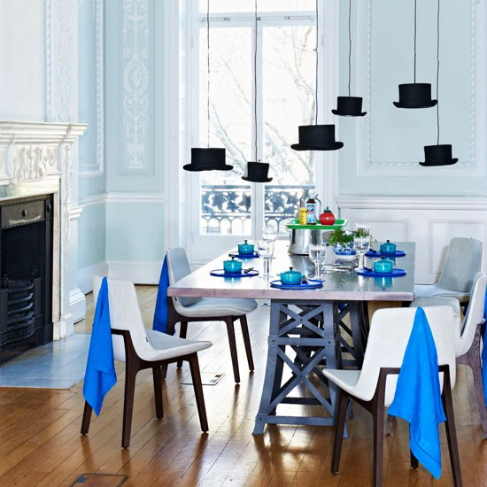 5 ý tưởng lạ mắt để trang trí phòng ăn ấn tượng hơn  3