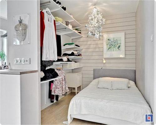 Bài trí nội thất cực chuẩn cho căn hộ 35 mét vuông  9