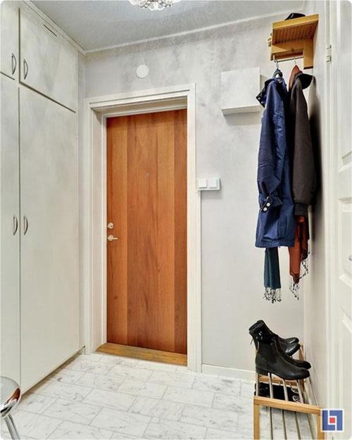 Bài trí nội thất cực chuẩn cho căn hộ 35 mét vuông  2