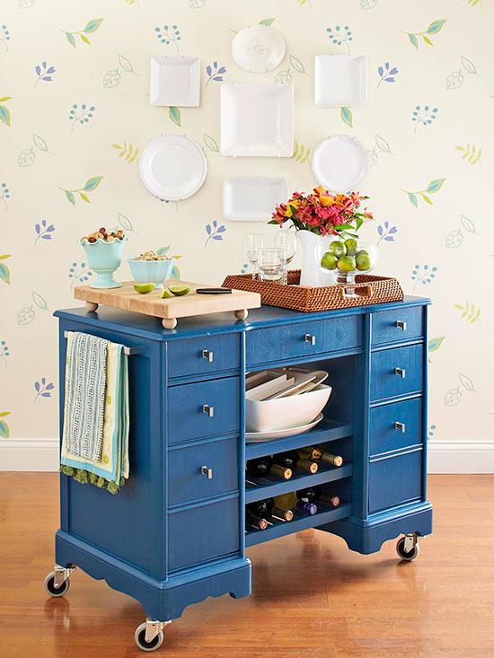 Phòng bếp xinh nhờ nội thất và cách trang trí thông minh 3