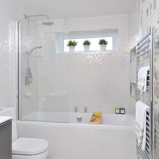 """""""Cơi nới"""" phòng tắm nhỏ không cần đập phá 5"""