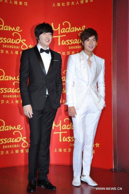 """Ra mắt tượng sáp mỹ nam của chàng """"Xoăn"""" Lee Min Ho  1"""