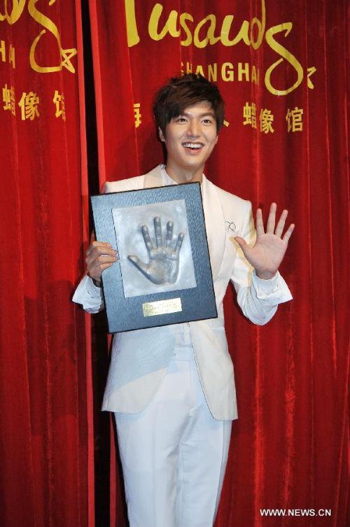 """Ra mắt tượng sáp mỹ nam của chàng """"Xoăn"""" Lee Min Ho  5"""