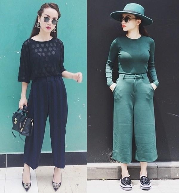 Kiểu quần culottes hợp với dáng người nào, kết hợp với áo nào đẹp?