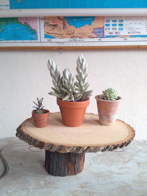 Biến những miếng gỗ nhỏ thành phụ kiện trang trí nhà độc đáo 2