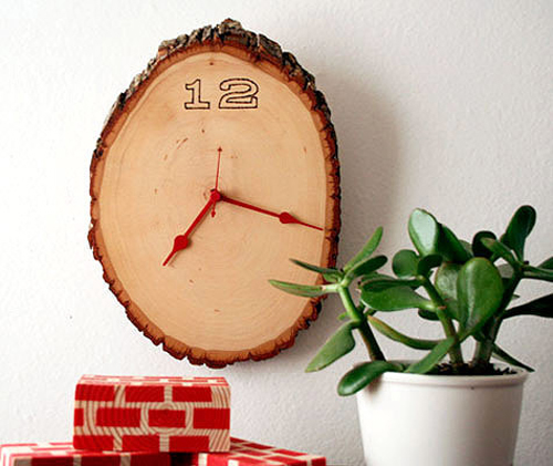 Biến những miếng gỗ nhỏ thành phụ kiện trang trí nhà độc đáo 6