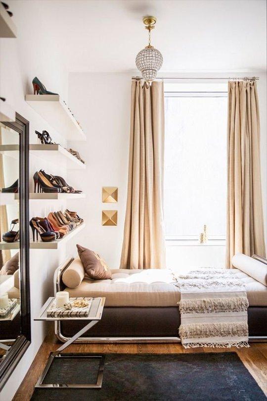 4 ý tưởng lưu trữ giày cao gót gọn gàng cho nhà chật 2