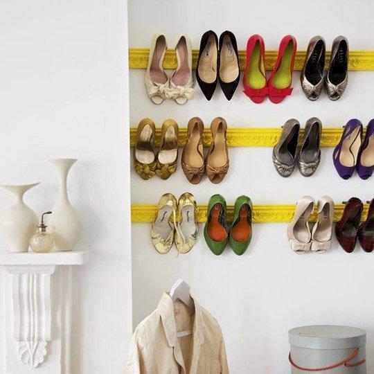 4 ý tưởng lưu trữ giày cao gót gọn gàng cho nhà chật 3