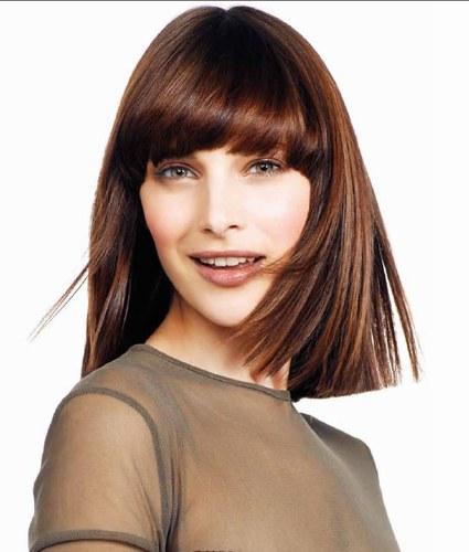 Tạo kiểu cho tóc ngang vai che khuyết điểm từng khuôn mặt 6