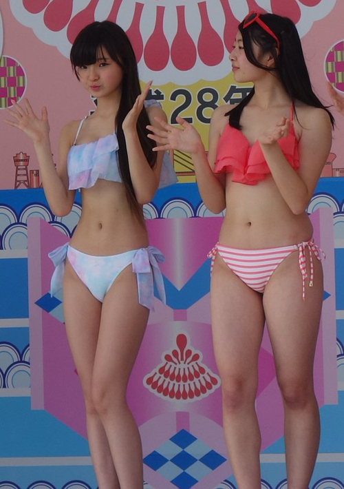 trình diễn bikini