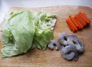 Bắp cải cuộn tôm ngon miệng đẹp mắt
