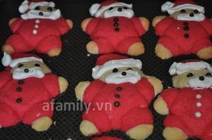 Giáng sinh vui với bánh quy hình ông già Noel 11