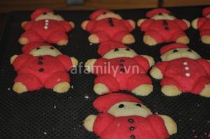 Giáng sinh vui với bánh quy hình ông già Noel 10