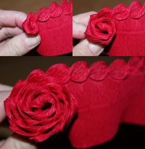 Rực rỡ giỏ hoa hồng giấy làm đẹp nhà mình 5